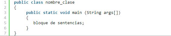 Clase Y Objetos En Java Estructura Básica